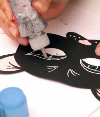 Come realizzare una mascherina da gatto per Carnevale