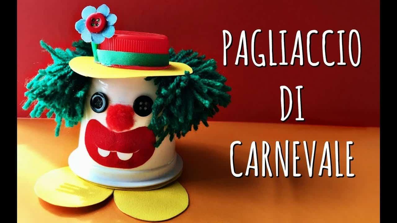 Carnevale fai da te | pagliaccio porta coriandoli