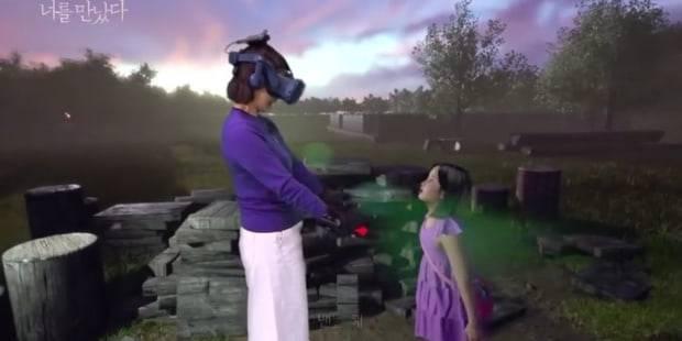 Donna rincontra la figlia morta grazie alla realtà virtuale
