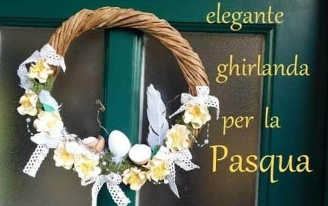 Pasqua fai da te | ghirlanda elegante -video-