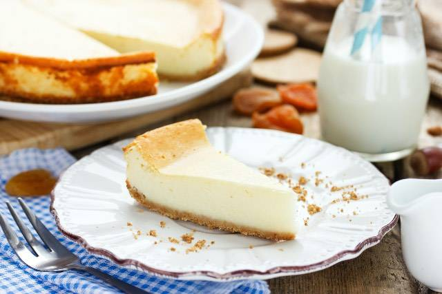 Un trucco per la vostra cheese cake