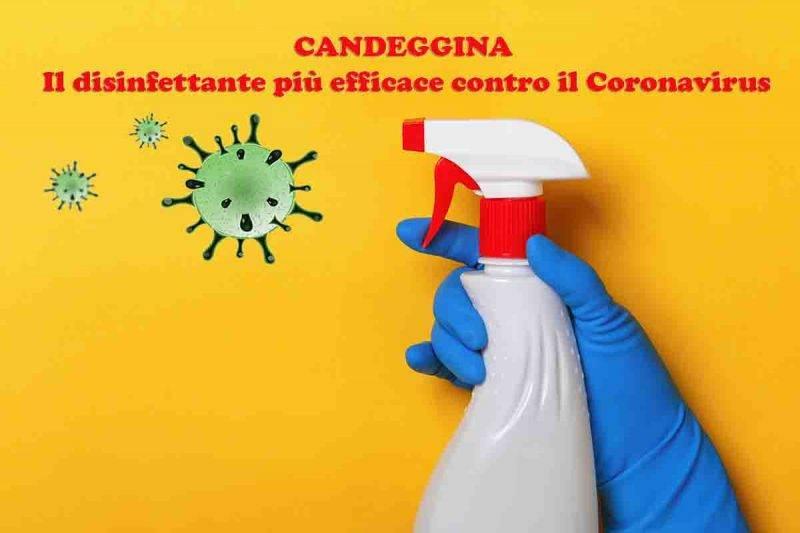 candeggina coronavirus