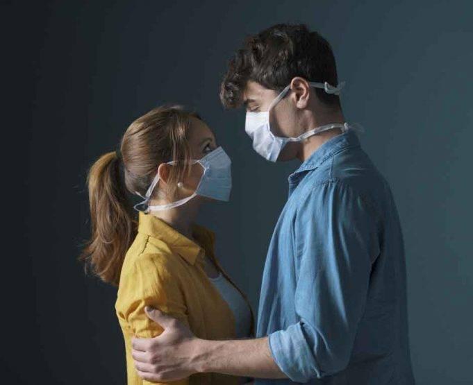 coppia in quarantena