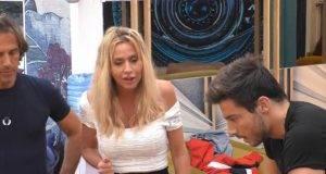Scontro Antonella Elia e Valeria Marini