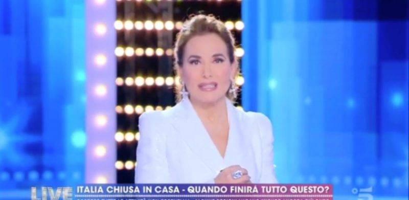 Barbara d'Urso a Live