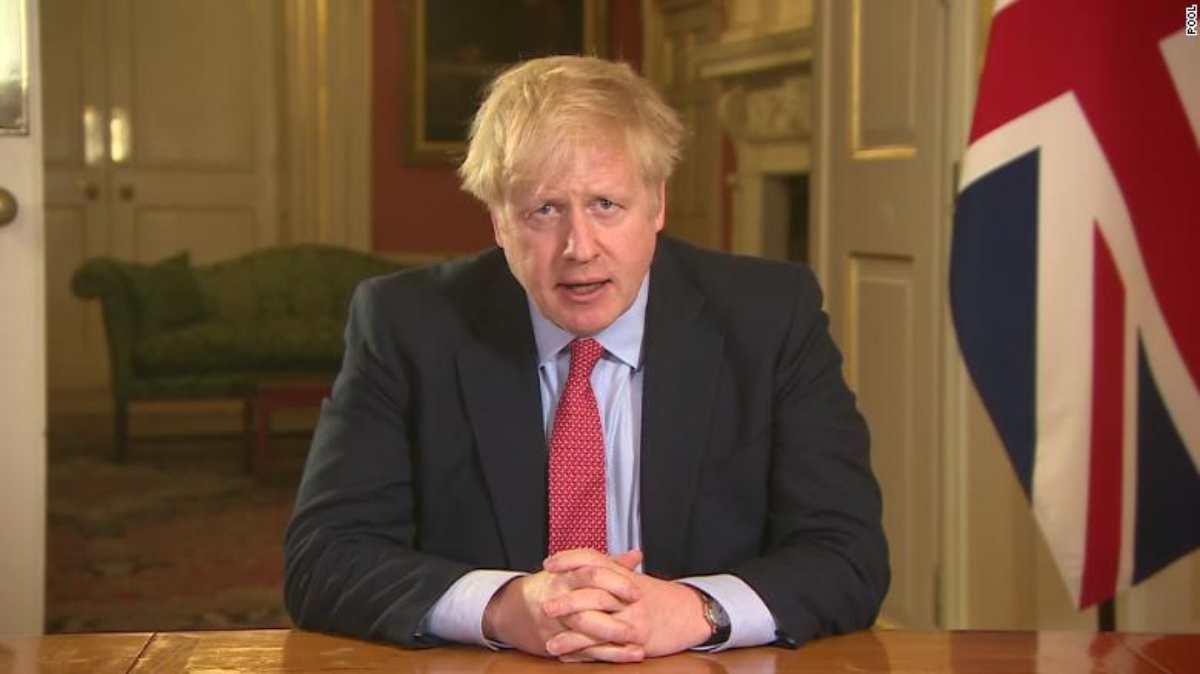 Il primo ministro inglese positivo al coronavirus