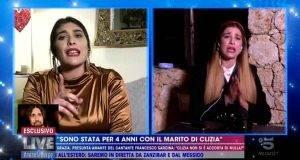 Clizia con l'amante di Sarcina