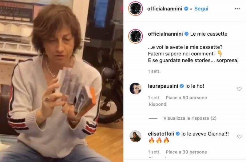 Gianna Nannini live su Instagram