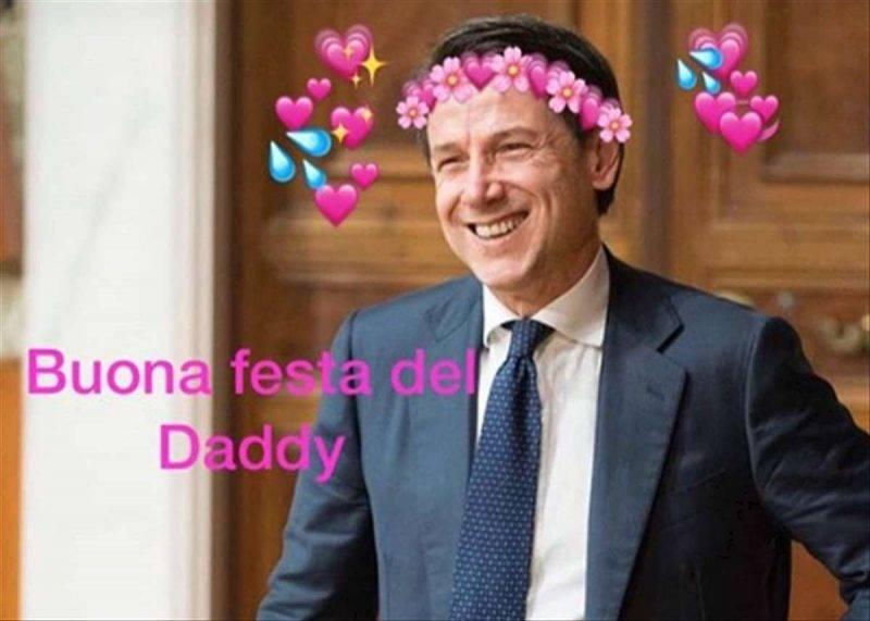 Giuseppe Conte daddy