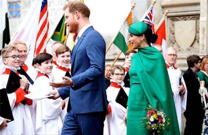 Harry e Meghan a Londra