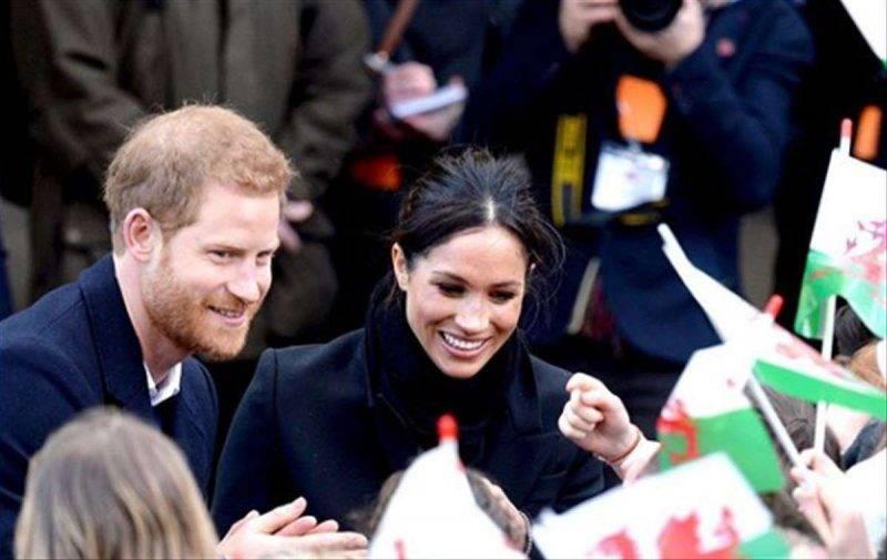 Harry e Meghan in Galles
