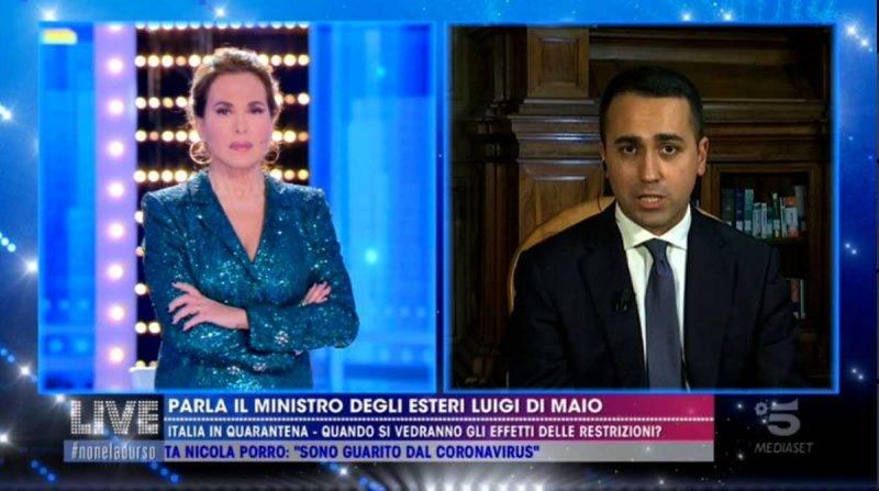 Luigi Di Maio a Live Non è la d'Urso