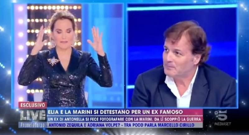 Marco Senise, ex di Antonella Elia, con la d'Urso