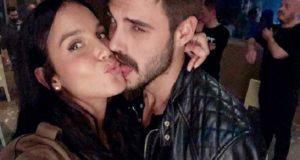 Francesco Monte bacia Paola Di Benedetto