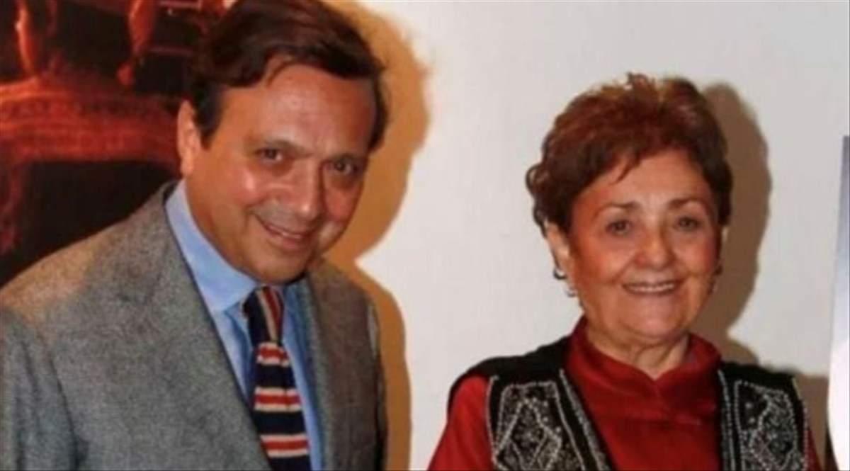 Piero Chiambretti e la mamma Felicita