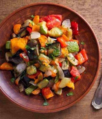 Contorno con verdure