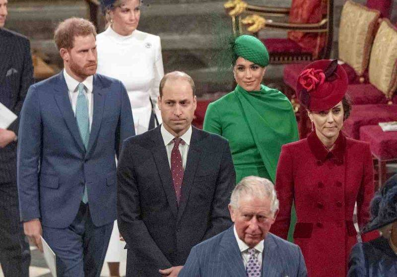 Royal Family, Harry preoccupato