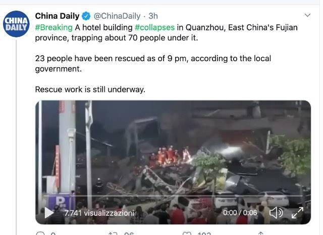 Post Twitter DailyChina