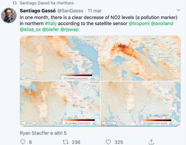 Twitter inquinamento