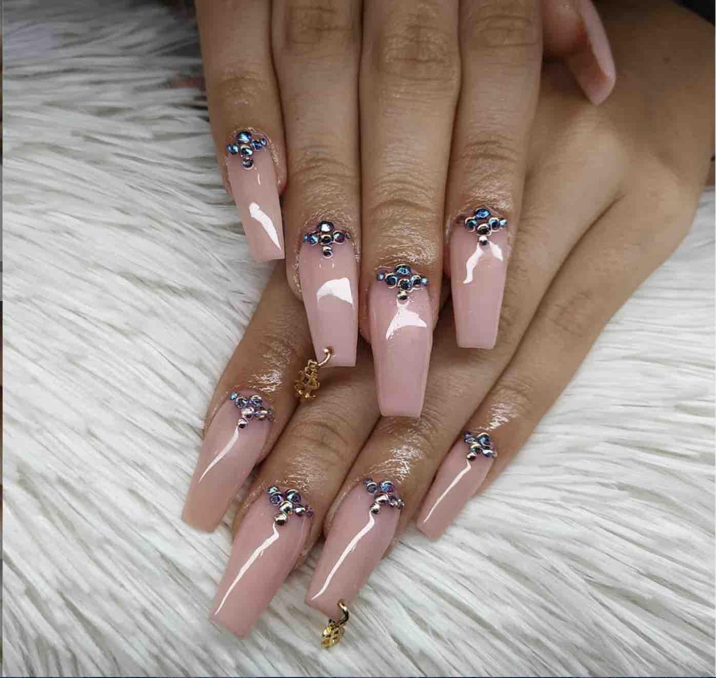 piercing nails