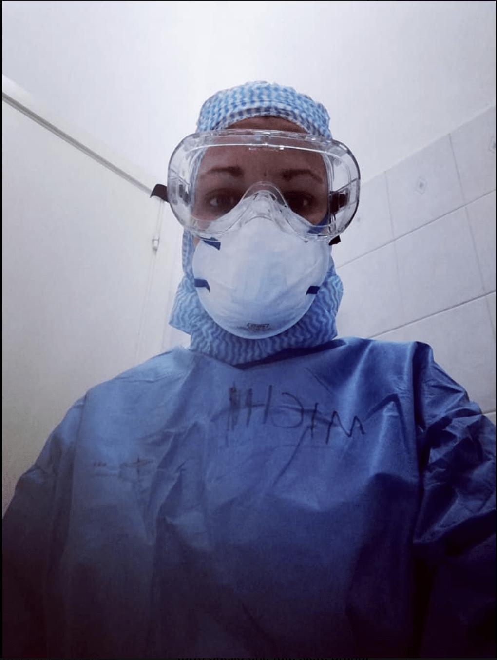 infermiera e coronavirus