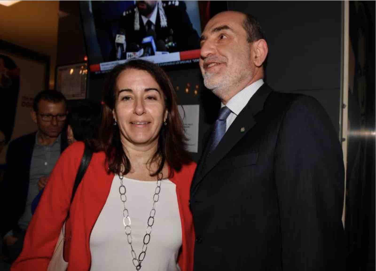 Giovanni Grasso moglie