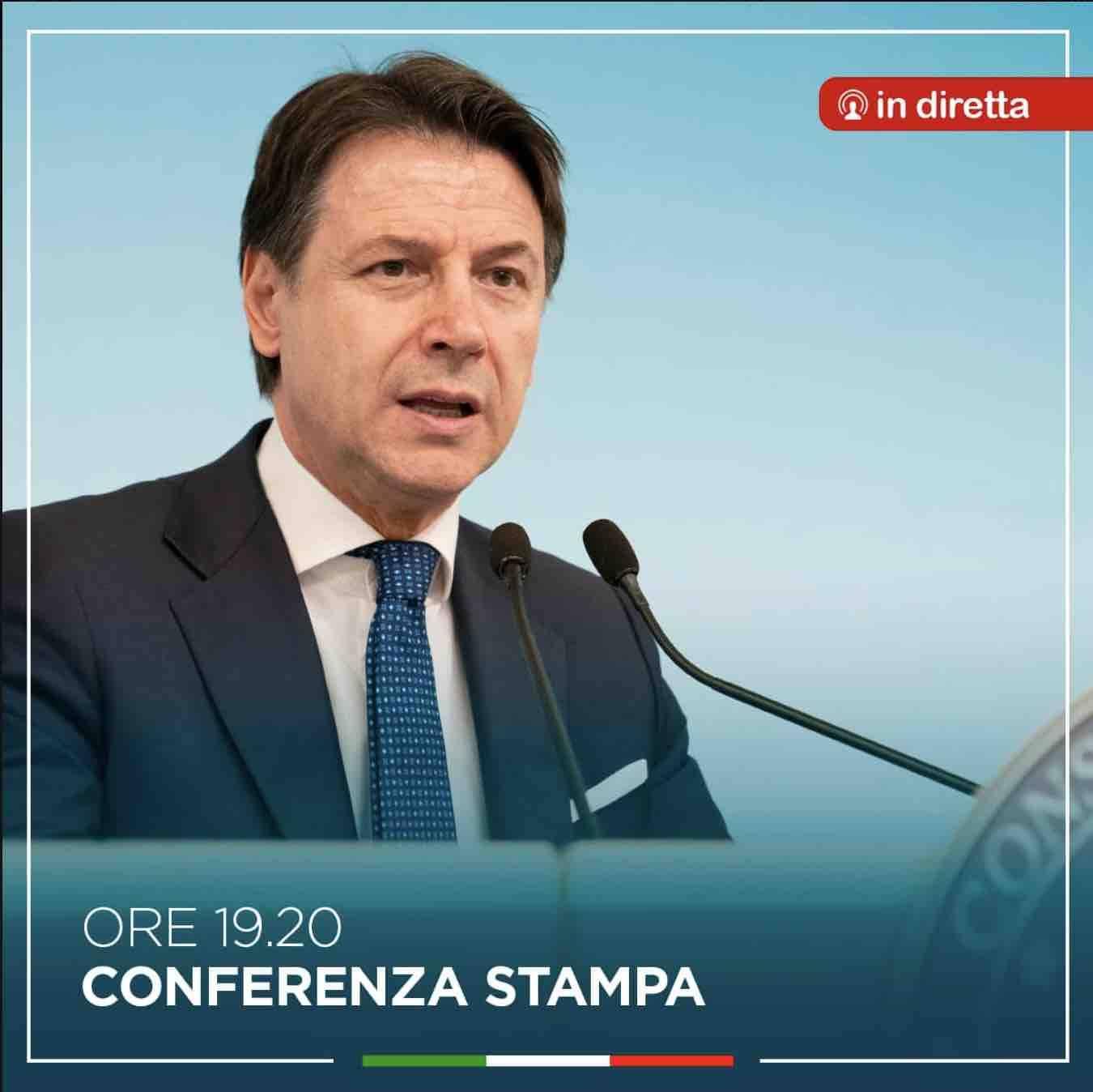 Giuseppe Conte diretta