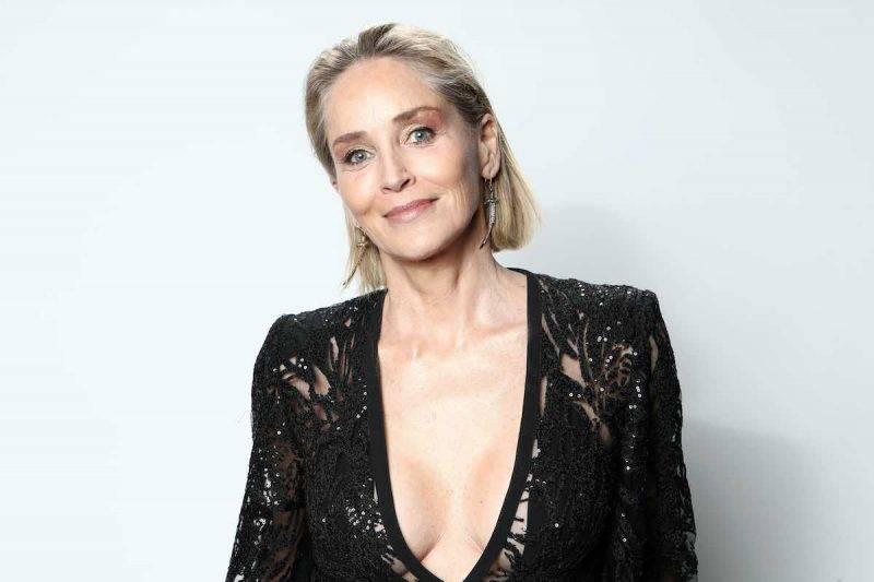 Sharon Stone vicina all'Italia nell'emergenza