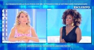 Domenica Live, Sylvie Lubamba e la d'Urso