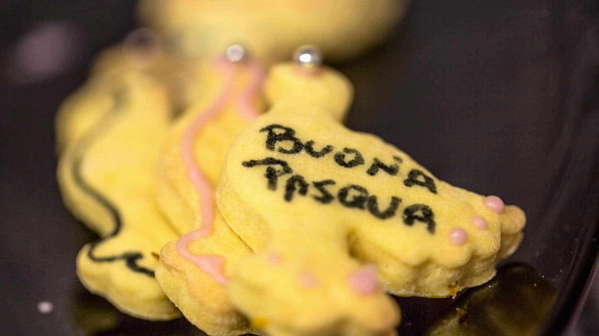 Biscotti di Pasqua leggeri e al limone