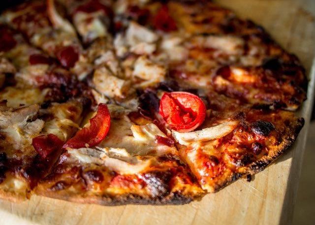 Pizza di grano saraceno