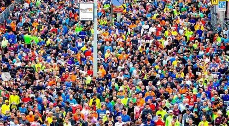 coronavirus inghilterra maratona
