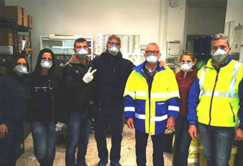 coronavirus poste italiane