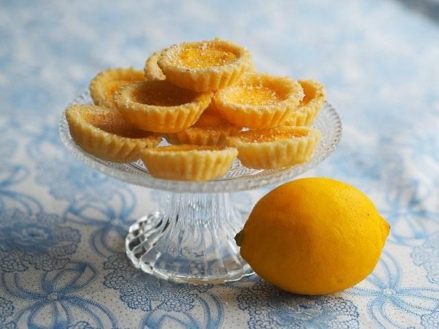 Mini tortine mimosa