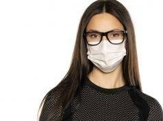 Mascherina e occhiali | come non farli appannare