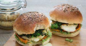 Ricetta vegetariana   tomino burger