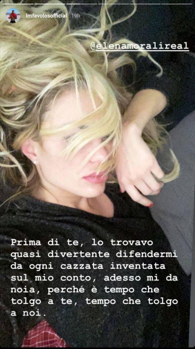 Dedica Elena Morali a Favoloso