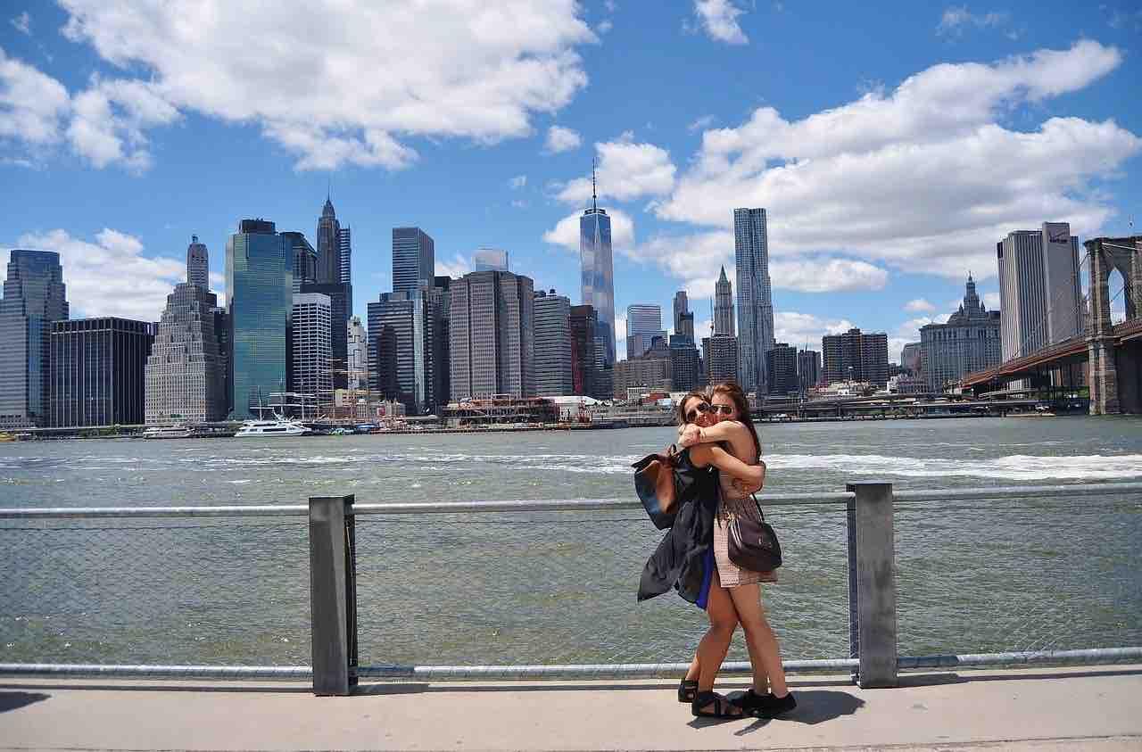 amiche a New York