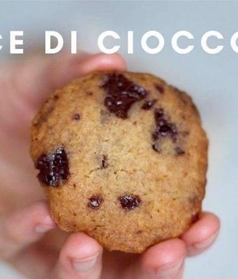 Ricetta vegana   cookies senza burro e uova -VIDEO-