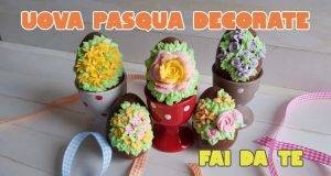 Pasqua fai da te | uova di cioccolato decorate a mano -VIDEO-