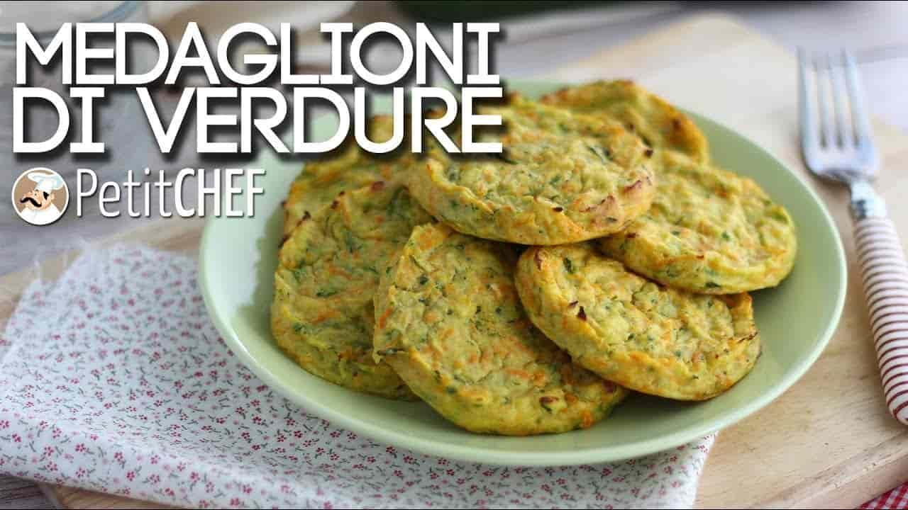 Ricetta vegetariana medaglioni di verdure