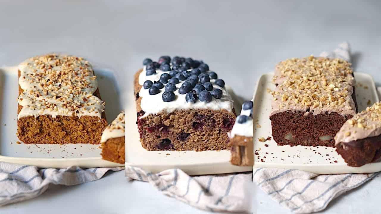 Torte vegane e senza glutine | tre ricette gustose -video-
