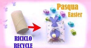 Pasqua fai da te | scatoline porta ovetti con riciclo creativo -VIDEO-