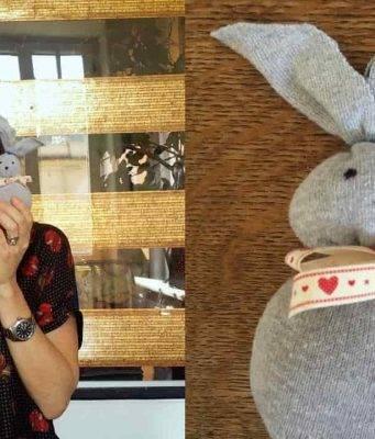Pasqua fai da te | coniglietto pasquale con un calzino -VIDEO-