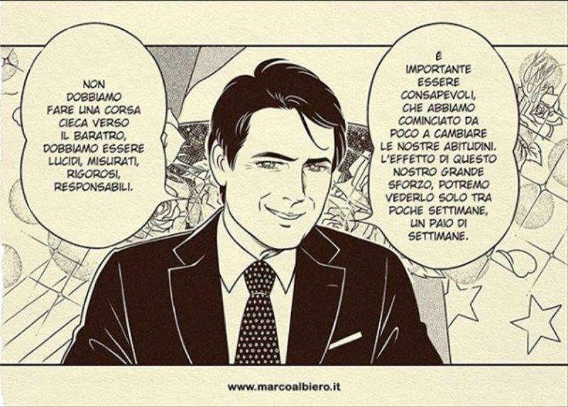 Giuseppe Conte manga