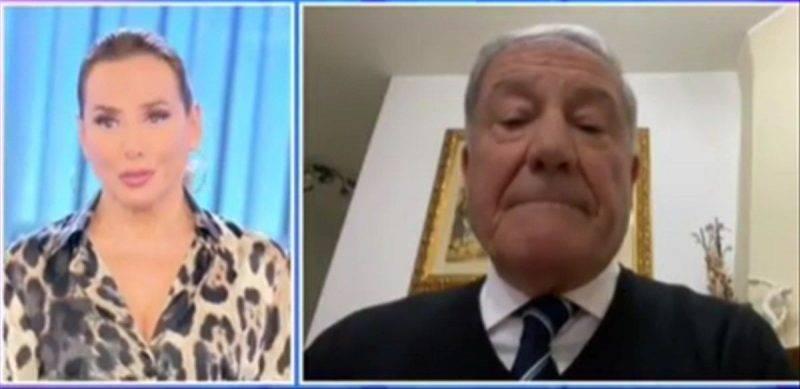 Barbara D'Urso e Donato Capece