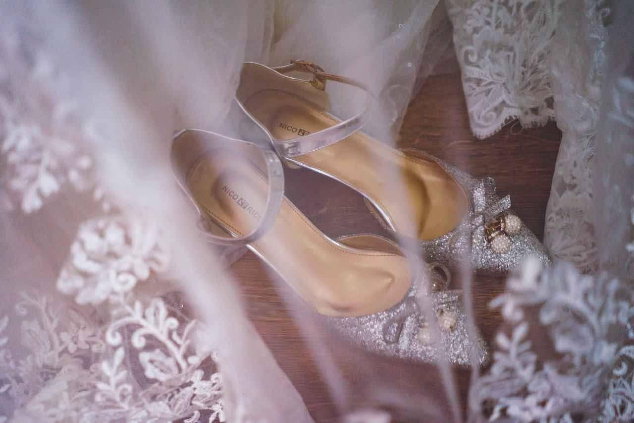 scarpe gioiello sposa