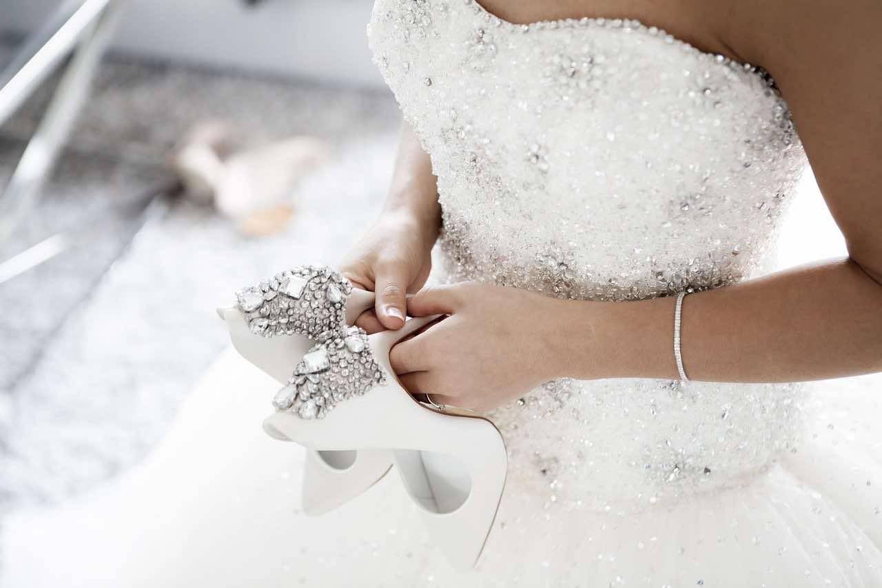 Scarpe Da Sposa 50 Euro.Scarpe Da Sposa I Modelli Piu Belli Delle Collezioni 2020