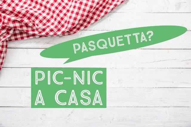 Il picnic di Pasquetta a casa