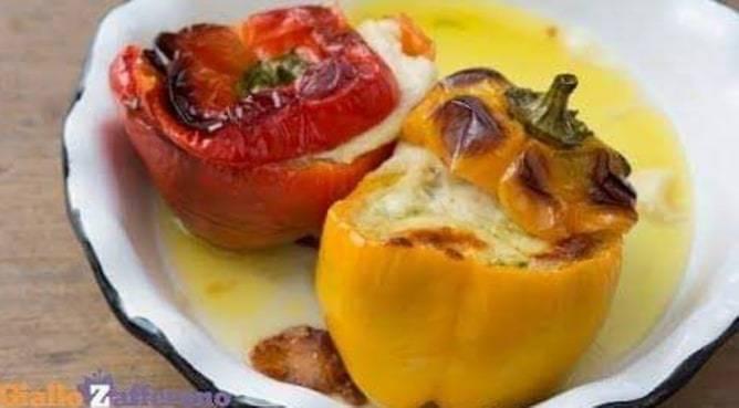 Ricetta vegetariana peperoni ripieni